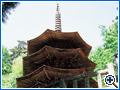 国宝 安楽寺八角三重塔